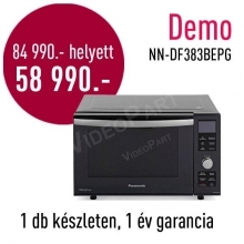 Panasonic  NN-DF383BE  inverteres Kombi mikrosütő  DEMO21