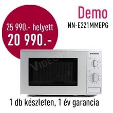 Panasonic NN-E221MMEG DEMO mikrohullámú sütő DEMO21