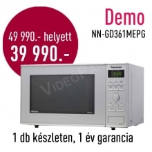 Panasonic NN-GD361M DEMO inverteres mikrohullámú sütő  DEMO21