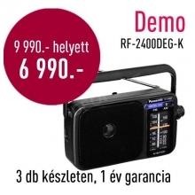 Panasonic RF-2400 hordozható AM/FM rádió DEMO21