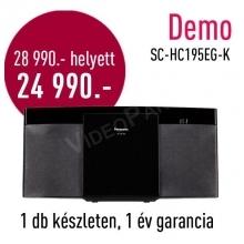 Panasonic SC-HC195EG DEMO mikro Hifi rendszer  DEMO21