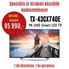 Panasonic TX-43CX740-DEMO LED TV  DEMO21