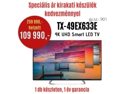 Panasonic TX-49EX633-DEMO2  LED TV   DEMO21