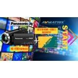 Panasonic StreamPack HC-V180 kamera és AVMatrix UC1218 HDMI > USB3 átalakító