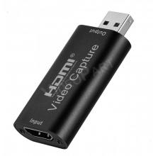HDMI>USB videó audió átalakító adapter, élő közvetítés, rögzítés, megtekintés, jeltovábbítás