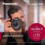 LUMIX DC-S5KE-K  FULL Frame, 4K váz + S-R2060 optika