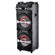 AKAI DJ-222 akkumulátoros DJ party hangsugárzó rendszer