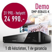 Panasonic DMP-BD84EG  Blu-ray lejátszó, DEMO21