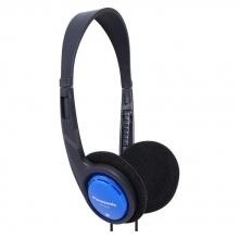 Összehajtható fejhallgató kék
