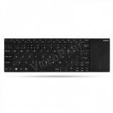 RAPOO E2710 billentyűzet + touchpad , fekete