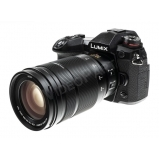 LUMIX DC-G9EG-K +H-ES50200E optika, csomagban