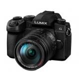 LUMIX DC-G90HEG-K  tükörnélküli fényképezőgép, 4K video 14-140 optika