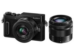 LUMIX  DC-GX880 fényképezőgép, 12-32mm / 35–100 mm cserélhető optikák, szelfi mód, Wi-Fi, 16MP, Post Focus