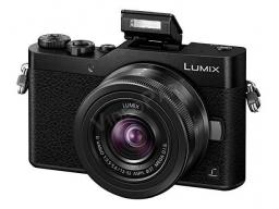 LUMIX  DC-GX880 fényképezőgép, 12-32mm cserélhető optika, szelfi mód, Wi-Fi, 16MP, Post Focus