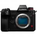LUMIX DC-S1HE-K Full-Frame, fényképezőgép váz - 6K/24p, 10-bit 60p 4K/C4K - moziminőségű videofelvétel