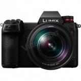 LUMIX DC-S1RME-K Full-Frame tükörnélküli fényképezőgép váz és 24-105mm optika - 47,3MP