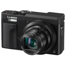 Lumix 30x zoomfunkciós utazókamera 4K szelfi technológiával - fekete. Június végétől szállítható!