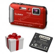 LUMIX DMC-FT10EP-R digitális fényképezőgép