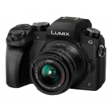 Lumix G - DSLM váz + 14/42 mm-es objektív - fekete