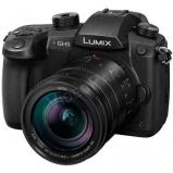LUMIX  váz és 12-60mm-es LEICA nagy fényerejű optika, 4K 60p video, 6K fotó