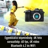 LUMIX DC-G9EG-K váz, 80Mp fotó, 4K videó, 6K fotó,