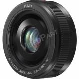 Lumix H-H020AE-K Mikro 4/3-os rendszerű,pancake típusú Lumix G objektív; 20 mm (35 mm ekv.: 40 mm) - fekete