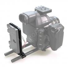 SmallRig 1547 akkumulátor szerelő keret
