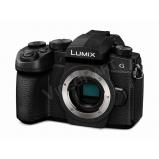 LUMIX DC-G90EG-K tükörnélküli fényképezőgép váz, 4K videó, V-Log,
