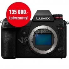 LUMIX DC-S1E-K Full-Frame tükörnélküli fényképezőgép váz - 24,2MP