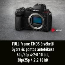 LUMIX DC-S5E-K  FULL Frame, 4K  váz