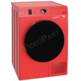 Szabadonálló kondenzációs, hőszivattyús szárítógép - tűzpiros