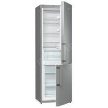 Kombinált hűtőszekrény, 225l/96l, A+, fémes szürke