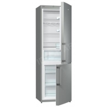 Kombinált hűtőszekrény, 225l / 94l, A++,Fémes szürke