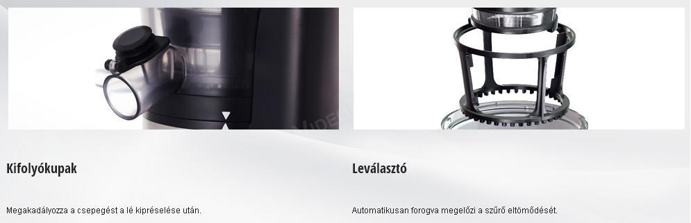 PANASONIC MJ-L500SXE Slow Juicer - ezust azonnal raktarrol - Budapesten