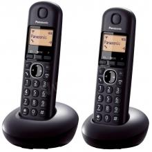 DUO DECT telefon, fekete