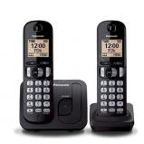 DUO DECT telefon - fekete