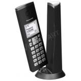 Design DECT telefon fekete