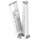 Design DECT telefon fehér