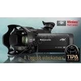 TIPA díj: A 'Legjobb videokamera' | 4K Ultra HD kamera elektronikus képkeresővel, LEICA Dicomar 20x zoomobjektívvel és moziszerű hatás funkcióval