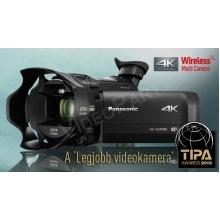4K Ultra HD kamera elektronikus képkeresővel, LEICA Dicomar 20x zoomobjektívvel és moziszerű hatás funkcióval