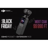 DJI Osmo Pocket és Extension Rod