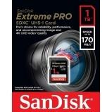 SanDisk 1000 GB EXTREME-PRO SDXC kártya 170MB/s, UHS-I, V30, U3