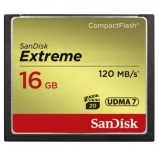 16GB Extreme CompactFlash 120MB/s