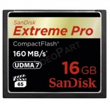 16GB Extreme Pro CompactFlash 160MB/s