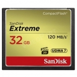32GB Extreme CompactFlash 120MB/s
