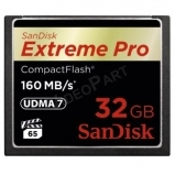 32GB Extreme Pro CompactFlash 160MB/s