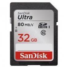 32GB ULTRA SDHC CL10, 80MB/S