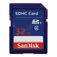 32GB SDHC  CL4 kártya