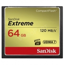 64GB Extreme CompactFlash 120MB/s
