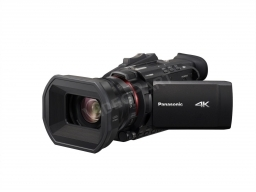 Panasonic HC-X1500E profi 4K kamera, Wi-fi, 4:2:2 10 bit, 2 optikagyűrű, 24x optikai zoom